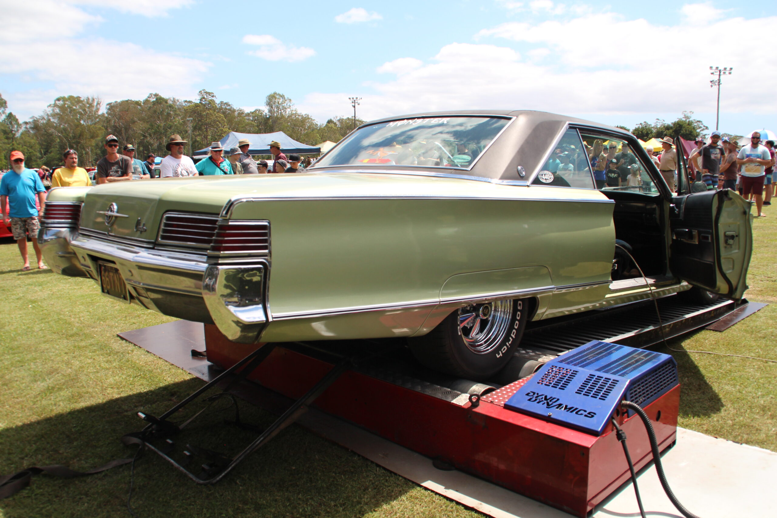 Classic cars, TNT, car show, dyno day, Power Curve Performance, mechanical service, sunshine coast, Plymouth Duster