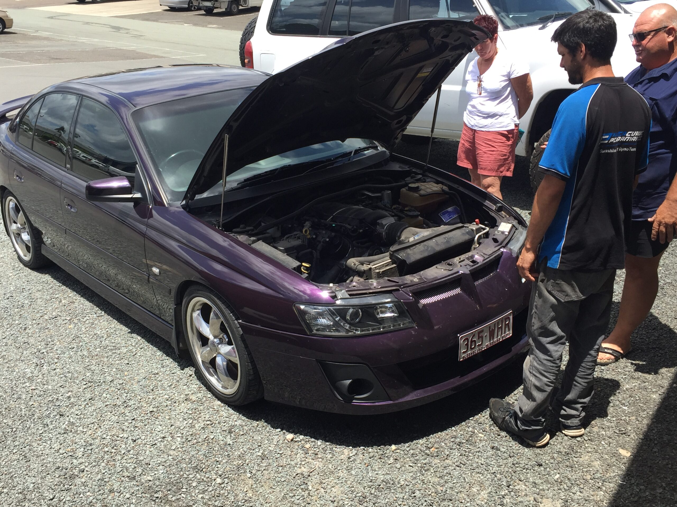 over 12 months later, holden commodore, Power Curve Performance, full package