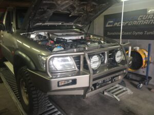TD42 check over, service, dyno tune, upgrades Power Curve Performance
