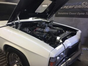 Supercharged Kingswood, Power Curve Performance, Sunshine Coast Dyno Tuning,