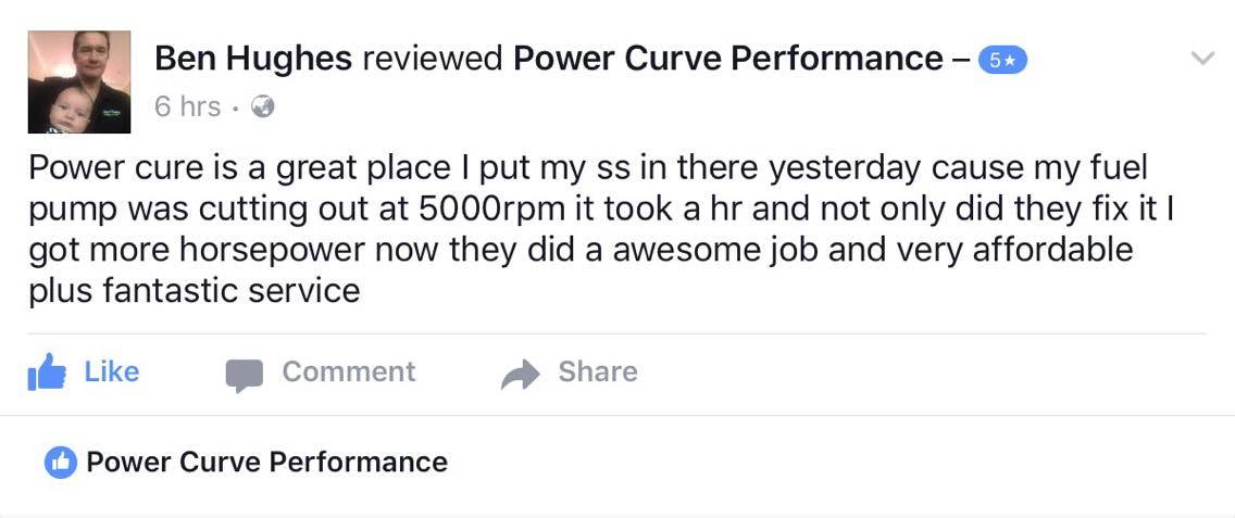customer review power curve performance