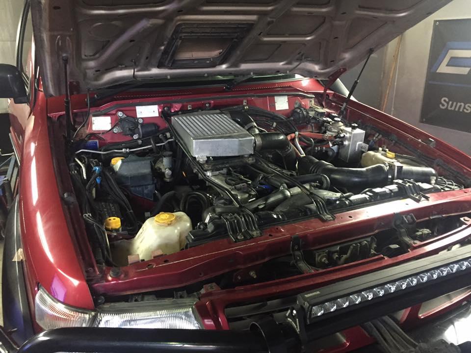 TD42 Turbo Nissan Patrol Turbo failed
