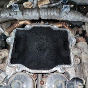 79 Series Landcruiser intake manifold clean