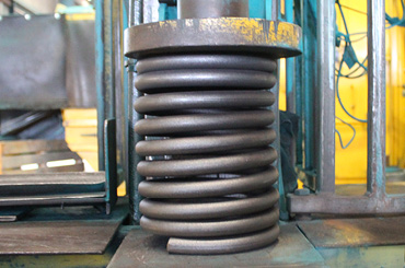 fully-scragged coil spring