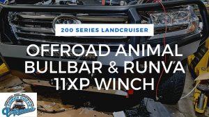 Offroad Animal Bullbar & Runva Winch