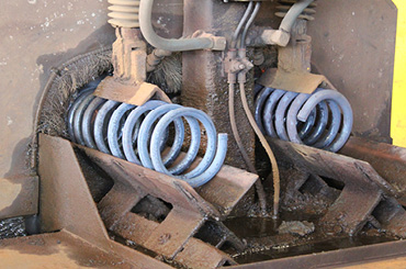 coil spring precise-end-configurations
